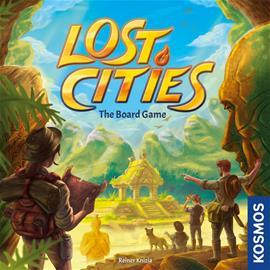 Lost Cities, lautapeli