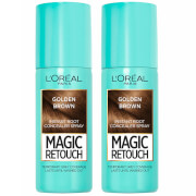 L'Oréal Paris Magic Retouch Golden Brown Root Concealer Spray Duo Pack