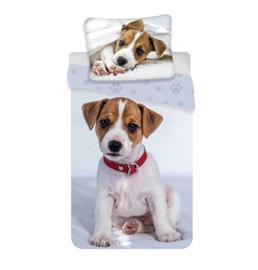 Puppy -pussilakanasetti, 140 x 200 cm + 1 tyynyliina 70 x 90 cm