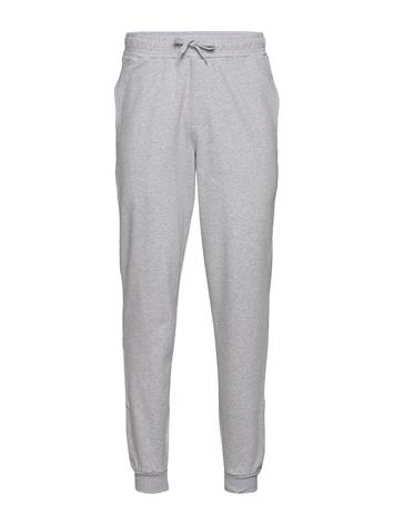 DEDICATED Jogger Lund Dedicated Logo Collegehousut Olohousut Harmaa DEDICATED GREY MELANGE