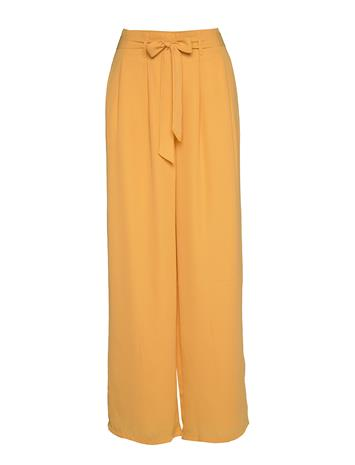 ONLY Onlalma Life Poly Pant Solid Wvn Leveälahkeiset Housut Oranssi ONLY GOLDEN APRICOT