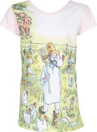Viiru & Pesonen T-paita, Pink, 110-116