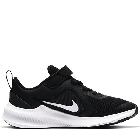Nike DOWNSHIFTER 10 lasten juoksukengät, musta 30