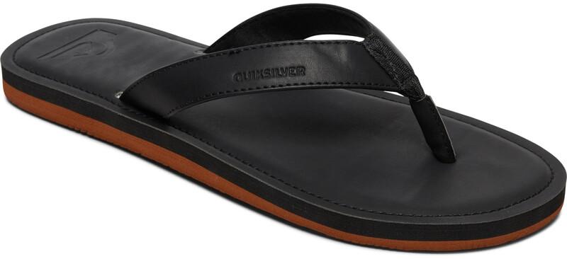 Quiksilver Molokai Nubuck II Sandals Men, solid black