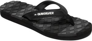 Quiksilver Massage 2 Sandals Men, black/black/grey