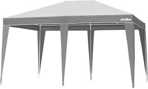 Brunner Isola II SP Paviljonki 3x4m, white/dark grey