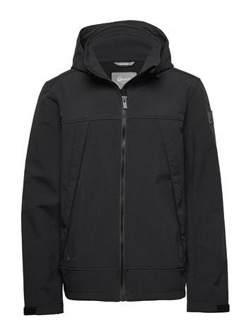Halti Veini Men'S Softshell Jacket Outerwear Sport Jackets Musta Halti BLACK
