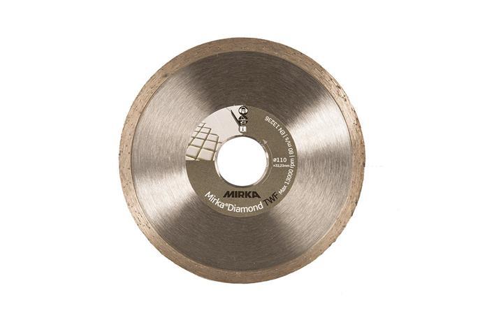 Timanttihiomalaikka Mirka DIAMOND; 110x22,2 mm; TWF