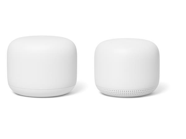 Google Nest Wifi (1 reititin + 1 tukiasema), langaton mesh järjestelmä