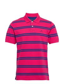 Gant D1. Contrast Stripe Collar Polos Short-sleeved Gant LOVE POTION
