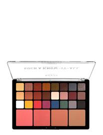 NYX PROFESSIONAL MAKEUP Such A Know It Shadow Palette Beauty WOMEN Makeup Eyes Eyeshadow Palettes Monivärinen/Kuvioitu NYX PROFESSIONAL MAKEUP MULTI-COLORED