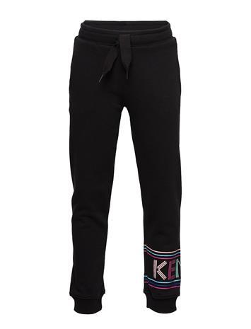 Kenzo Logo Jg 9 Collegehousut Olohousut Musta Kenzo BLACK