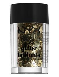 NYX PROFESSIONAL MAKEUP Shaped Glitter Brilliants Korostus Varjostus Contouring Meikki Monivärinen/Kuvioitu NYX PROFESSIONAL MAKEUP ELECTRO