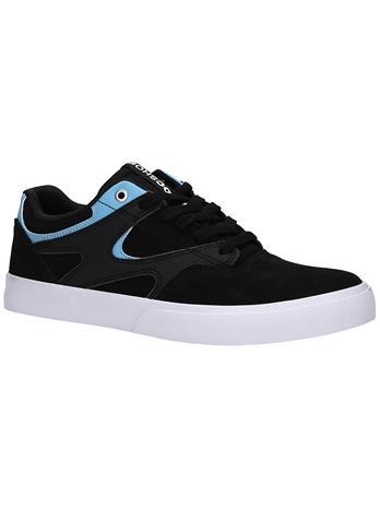 DC Kalis Vulc S Skate Shoes black / blue Miehet