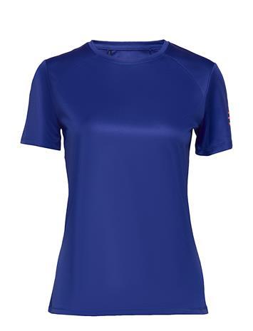 Halti Anet Women'S Training T-Shirt T-shirts & Tops Short-sleeved Sininen Halti POWER BLUE