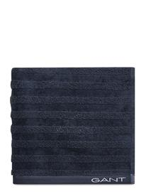 Gant Line Towel 50x70 Home Bathroom Towels Sininen Gant SATEEN BLUE