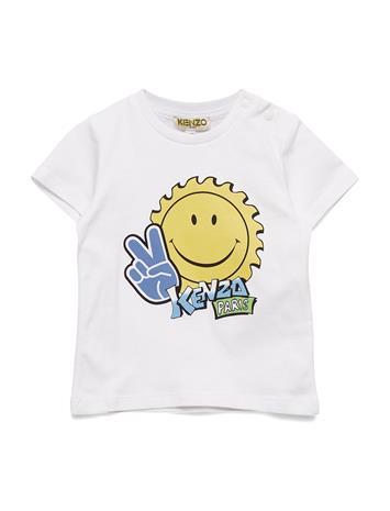 Kenzo Jeanmi T-shirts Short-sleeved Valkoinen Kenzo WHITE