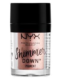 NYX PROFESSIONAL MAKEUP Shimmer Down Pigment Walnut Beauty WOMEN Makeup Eyes Eyeshadow - Not Palettes Ruskea NYX PROFESSIONAL MAKEUP WALNUT