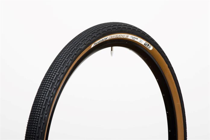Panaracer GravelKing SK Folding Tyre 700x50C TLC, black/brown