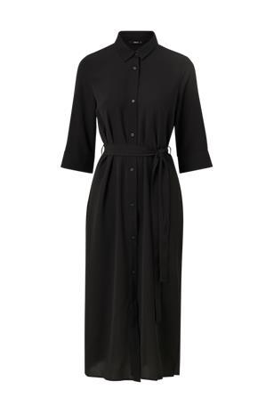 Only Paitamekko onlNova Lux 3/4 Shirt Dress Solid Wvn