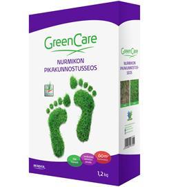 Greencare nurmikon 1,2kg pikakunnostusseos