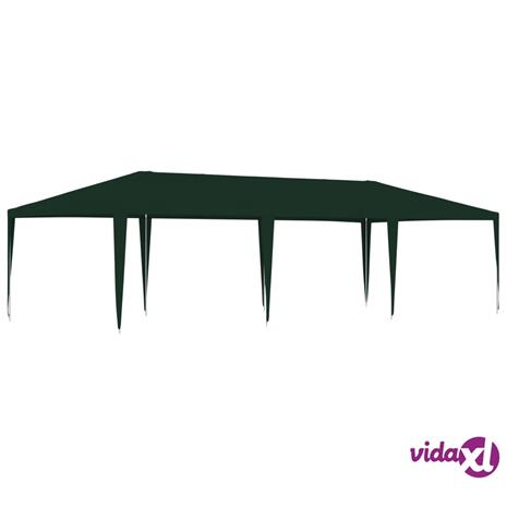 vidaXL Ammattilaisten juhlateltta 4x9 m vihreä 90 g/m²