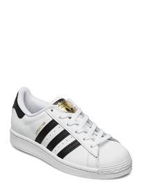 adidas Originals Superstar J Tennarit Sneakerit Kengät Valkoinen Adidas Originals FTWWHT/CBLACK/FTWWHT