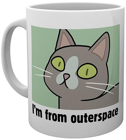 Rick And Morty - Outerspace - Muki - Unisex - Monivärinen