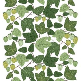 Arvidssons Textil Humlen kangas Vihreä