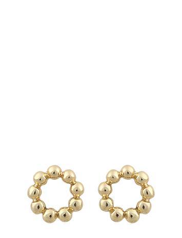 SNä– of Sweden Minna Small Ball Ear Accessories Jewellery Earrings Studs Kulta SNä– Of Sweden PLAIN G