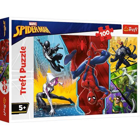 Trefl Spiderman 100p palapeli