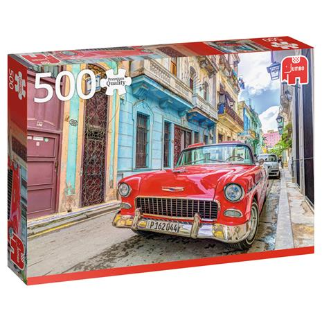 Jumbo Premium Collection Havana, Cuba 500p palapeli