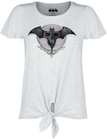 Batman - Bat-Logo - T-paita - Naiset - Valkoisen sekoitus