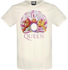 Queen - Amplified Collection - Night At The Opera - T-paita - Miehet - Luonnonvalkoinen
