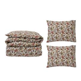 Lexington Lexington-Printed Cotton Sateen Bedset 220x220/50x60x2 cm