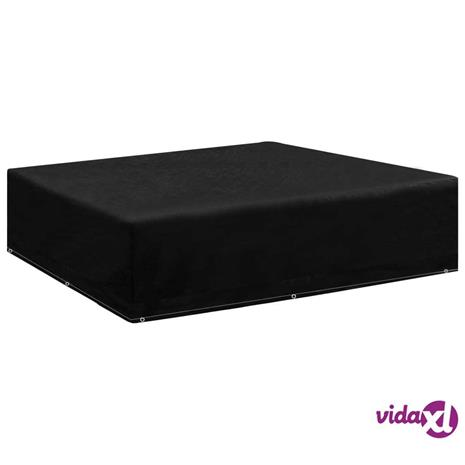 vidaXL Puutarhakalusteiden suoja 8 purjerengasta 200x200x70 cm
