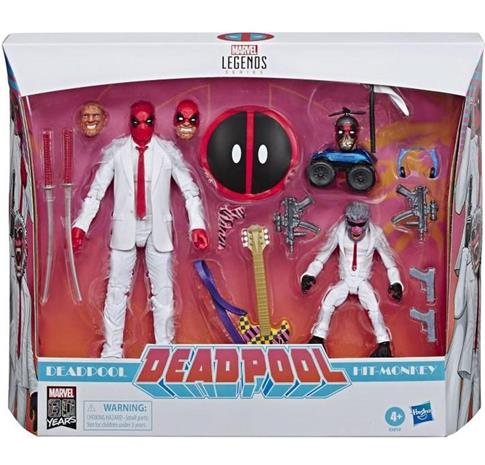 Marvel Anniversary Legends Series Deadpool and Hit-Monkey