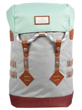 Doughnut Colorado Small Mid-Tone Series Backpack light grey x maroon
