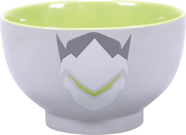 Overwatch - Genji - Murokulho - Unisex - Harmaa vihreä valkoinen