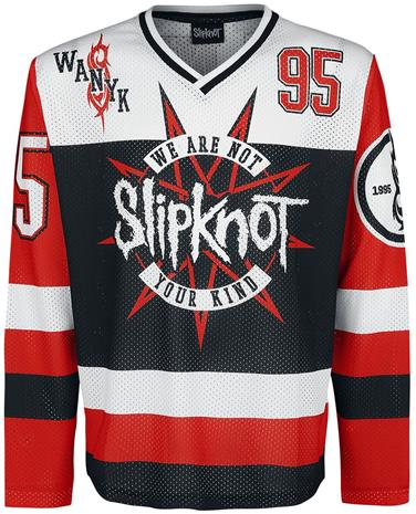 Slipknot - We Are Not Your Kind Hockey Trikot - Pitkähihainen paita - Miehet - Monivärinen