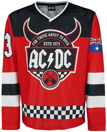 AC/DC - For Those About To Rock Hockey Trikot - Pitkähihainen paita - Miehet - Monivärinen