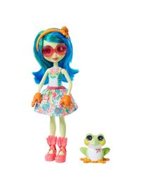 Mattel Enchantimals - Tamika Tree Frog &amp Burst