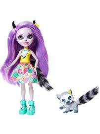 Mattel Enchantimals - Larissa Maki &amp Ringlet