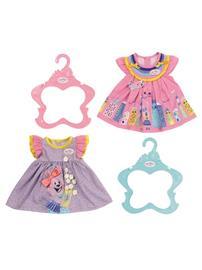 Baby Born Dresses 2 assorted 43cm