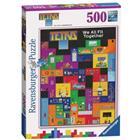 RAVENSBURGER - Palapeli 500 kpl Tetris