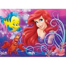 RAVENSBURGER - 60 kpl palapeli Hieno pieni merenneito / Disney Ariel
