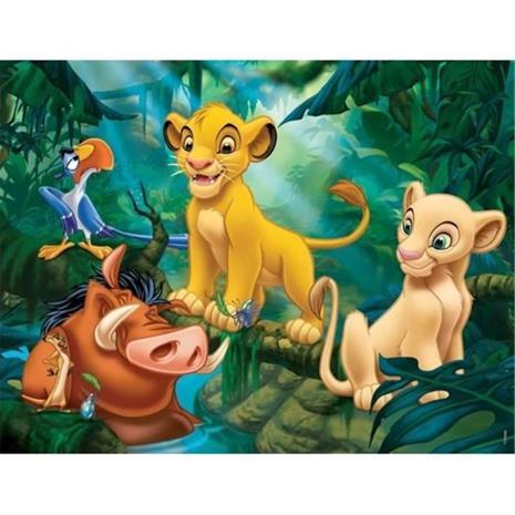 KING LION Palapeli Simba & Co 30 kpl - Disney