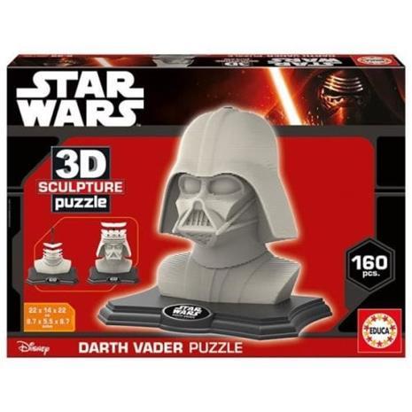 EDUCA Tähtien sota palapeli 3D Darth Vader - Dark Side Edition