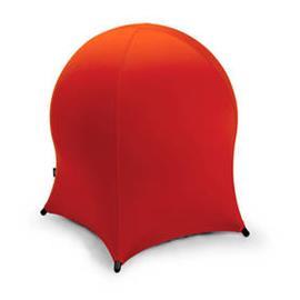 Tasapainotuoli JELLYFISH metallijaloilla, spandex, punainen
