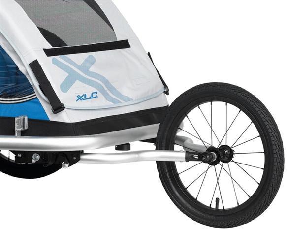 XLC Juoksurattaiden tarvikesarja lasten perävaunun Duo-malleihin, jotka on valmistettu 2016 tai sen jälkeen